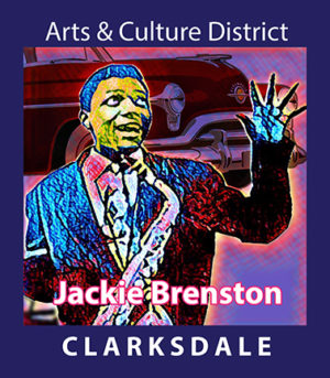 Clarksdale singer and saxephone player, Jackie Brenston.