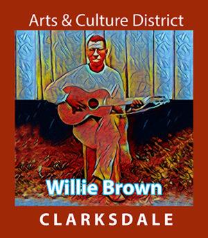 Clarksdale bluesman, Willie Brown.