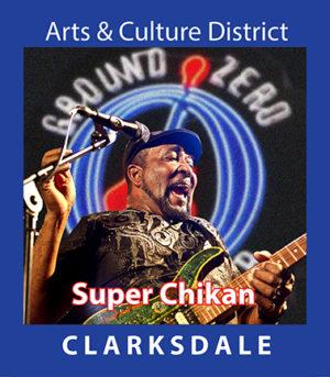 Contemporary Clarksdale bluesman, Super Chikan.