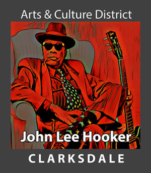 Clarksdale blues icon, John Lee Hooker.