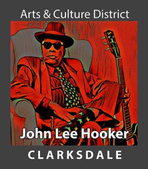 Clarksdale blues icon, John Lee Hooker.