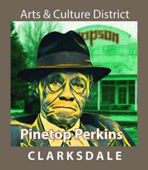 Blues piano player, Pinetop Perkins.