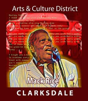Songwriter, Mack Rice.