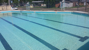 The Swimming Pool in Sycamore Park in Clarksdale, MS.