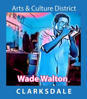 Bluesman and barber Wade Walton.