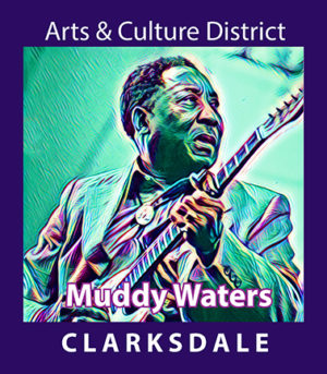 Bluesman Muddy Waters.