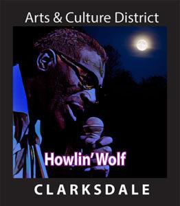 Bluesman Howlin' Wolf.