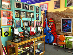 The Rock and Blues Museum.