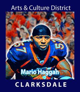 Denver Broncos linebacker, Mario Haggan.