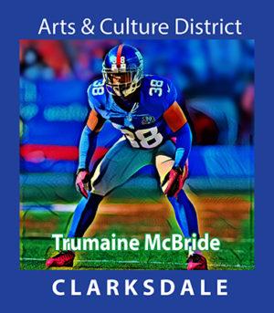 NFL cornerback, Trumaine McBride.