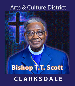 Bishop Timothy Titus Scott, Sr., pastor of St. James Temple Church of God in Christ in Clarksdale.