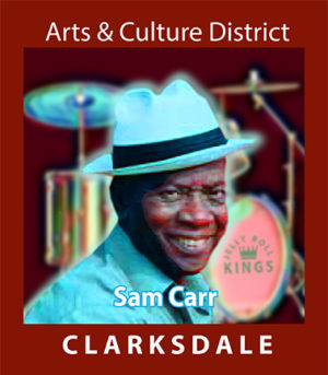 Drummer and Jelly Roll Kings member, Sam Carr.