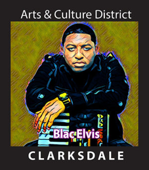Clarksdale born hip hop artist and producer, Blac Elvis.