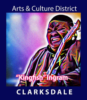 """Clarksdale guitar prodigy, Christone """" Kingfish"""" Ingram."""