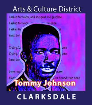 Delta blues pioneer, Tommy Johnson.
