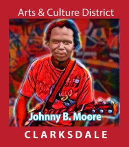 Clarksdale guitarist, Johnnie B. Moore.