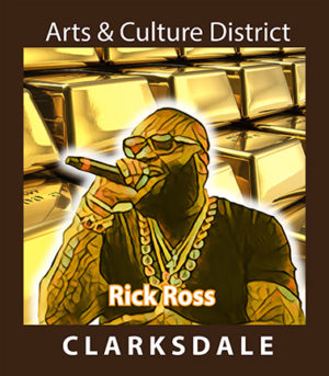 Clarksdale born rapper and entrepreneur, Rick Ross.