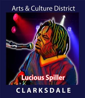 Contemporary Clarksdale bluesman, Lucious Spiller.