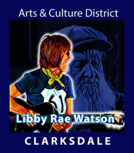 Clarksdale favorite blueswoman, Libby Rae Watson.