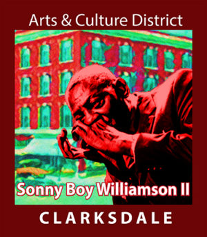 Blues harp icon, Sonny Boy Williamson II.