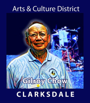 Clarksdale NASA engineer, Gilroy Chow.