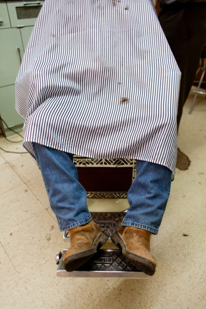 Marty's Barbershop, a Clarksdale photo story by Ava Weintraub.