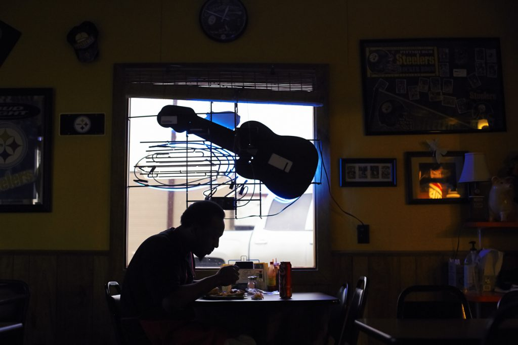 Abe's BarBQ, a Clarksdale photo story by Robert Wagner.