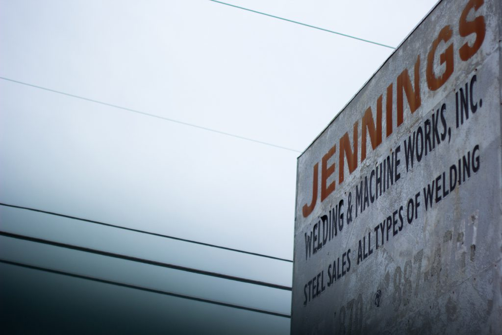 Jennings Welding, a photo story by Hunter Hart.