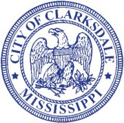 Seal of the City of Clarksdale.