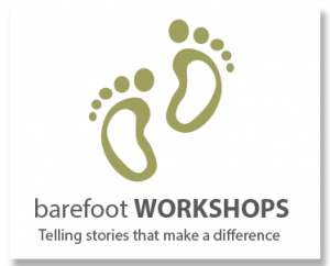 Barefoot Workshops: telling stories that make a difference.