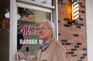 Marty's Barbershop, a Clarksdale story from Barefoot Workshops.