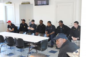 Clarksdale Police and Fire Department retirement ceremony.